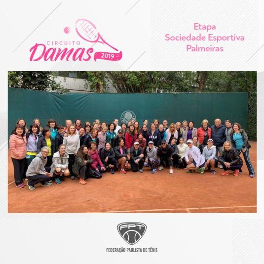CIRCUITO DAMAS 2019 – ETAPA SOCIEDADE ESPORTIVA PALMEIRAS