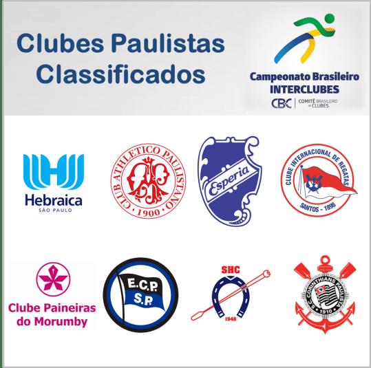 CLUBES PAULISTAS SE CLASSIFICAM PARA A 1ª EDIÇÃO DO CAMPEONATO BRASILEIRO INTERCLUBES