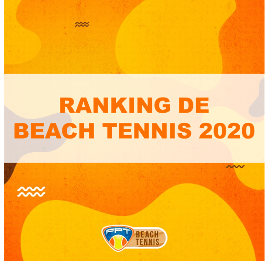BEACH TENNIS – RANKING 2020