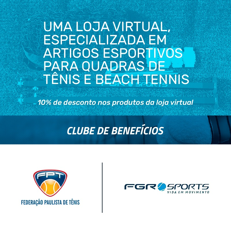 FGR SPORTS – NOVO PARCEIRO DO CLUBE DE BENEFÍCIOS DA FPT