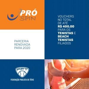 RENOVADA PARCERIA DA FPT COM A PRÓ SPIN PARA TEMPORADA 2020