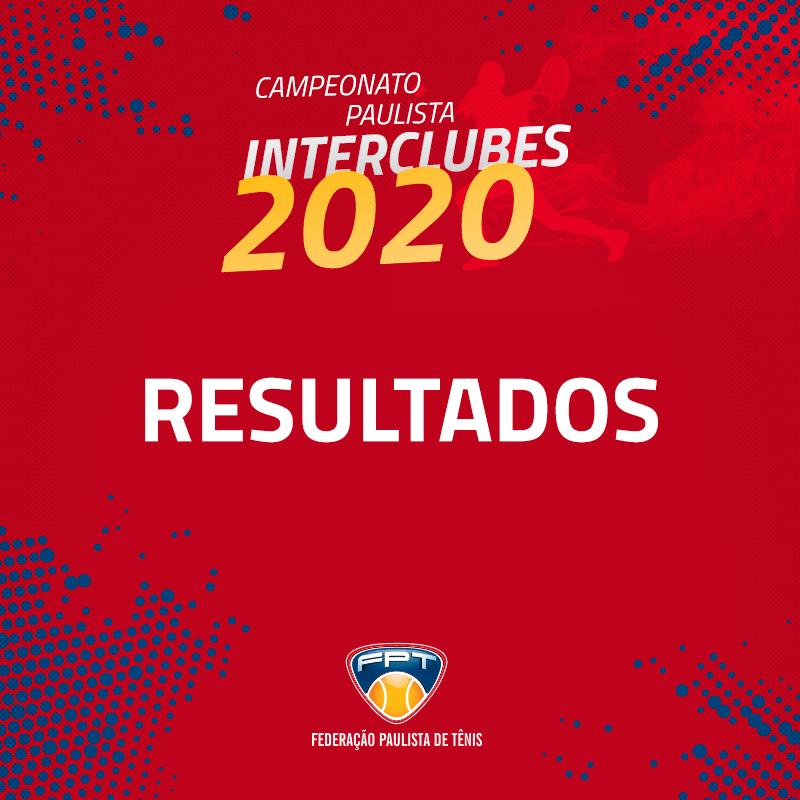 RESULTADOS INTERCLUBES 2020 – 34MA, 34FA, 34FB e 75M