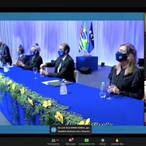 ESPORTE CLUBE PINHEIROS CELEBRA A POSSE DA NOVA DIRETORIA EXECUTIVA