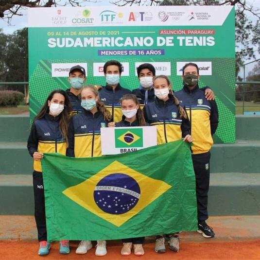 Brasil segue 100% no Sul-Americano 16 anos, confira:
