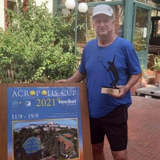 Paulista Roger Guedes é campeão do ITF Seniors na Grécia