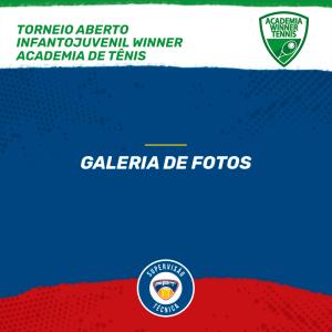 Quadro de Honras – Torneio Aberto Infantojuvenil Winner Academia de Tênis