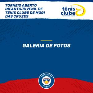 Quadro de Honras – Torneio Aberto Infantojuvenil do Tênis Clube de Mogi das Cruzes