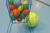 Cesto básico para pelotas