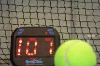 Medidor electrónico de velocidad de bola
