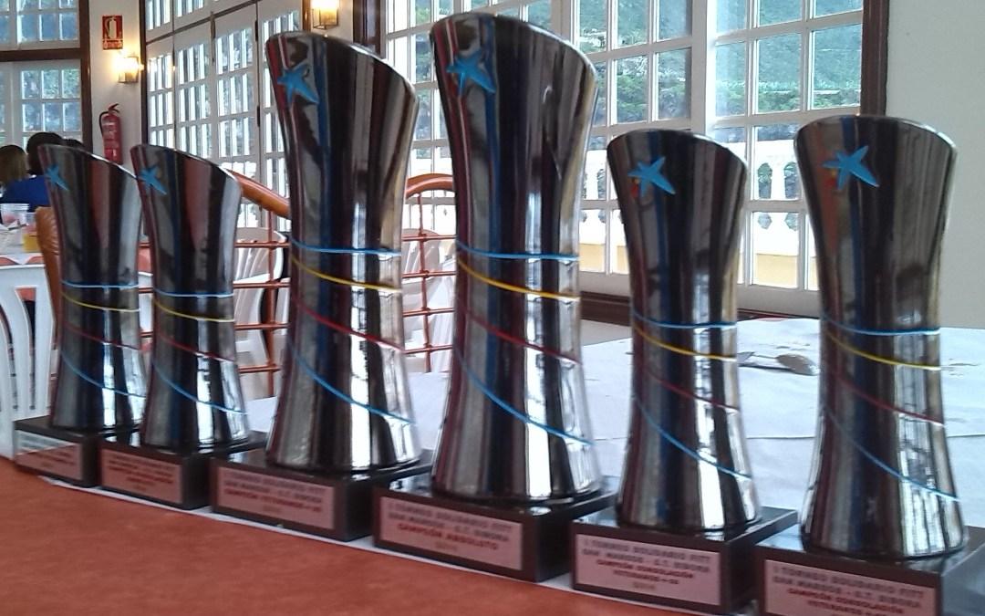 Torneo Solidario, entrega trofeos