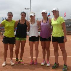 Tenis Femenino Tinerfeño, en los ITF de Gran Canaria