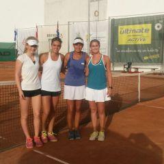 Tenistas Tinerfeñas en los ITF de  Gran Canaria