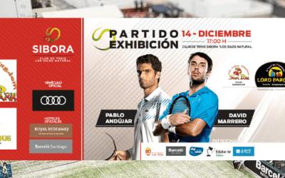 Loro Parque, nuevo colaborador con el partido Exhibición Pablo Andújar & David Marrero