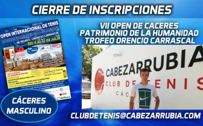 Kuznetsov, ex top-39 Atp participa en el IBP Cabezarrubia de Cáceres