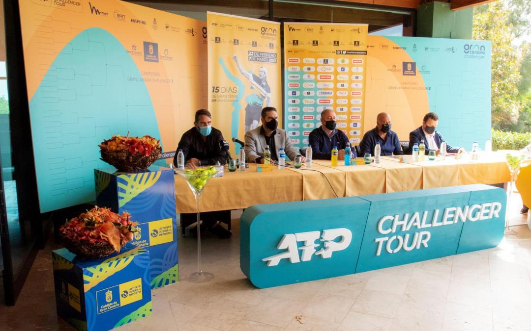 Gran canaria abre la temporada de los atp challenger tour