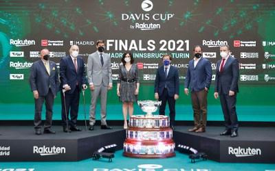 Las Finales de la Copa Davis by Rakuten 2021 se presentaron oficialmente este jueves en Madrid