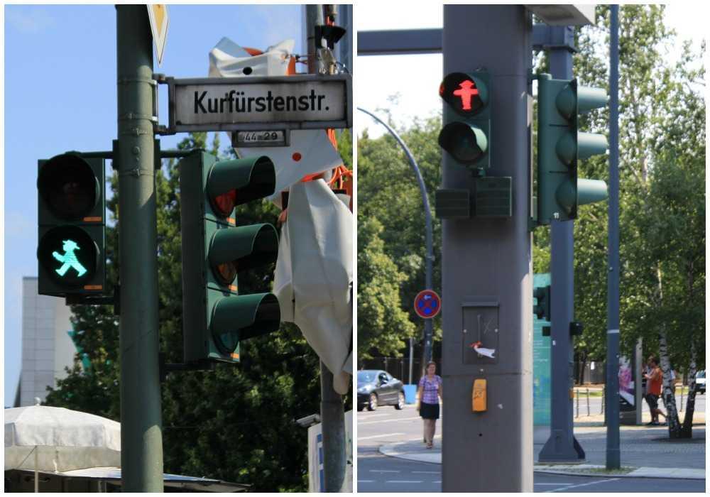 Mažasis šviesoforo žmogiukas  Ampelmännchen - Berlyno simbolis