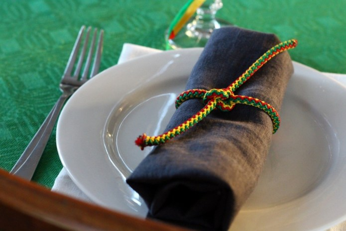 lietuviško stalo dekoras
