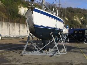 arran yacht cradle