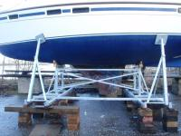 drop keel cradle