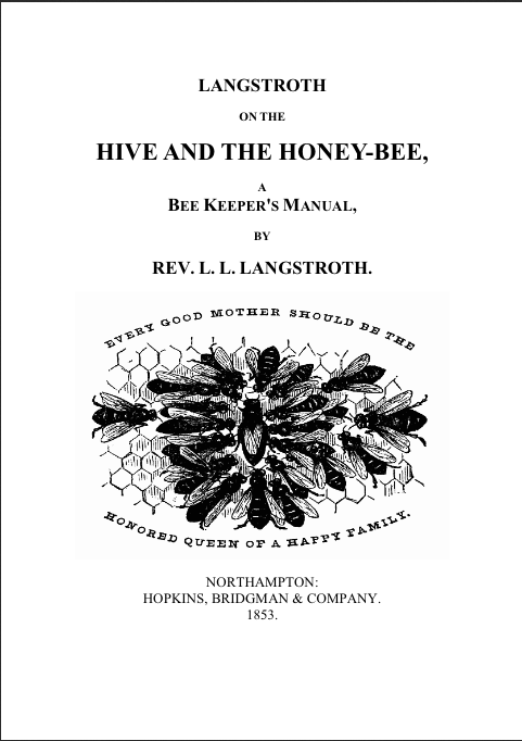HIVE AND THE HONEY-BEE, : Tennessee's Honey Bees, Your