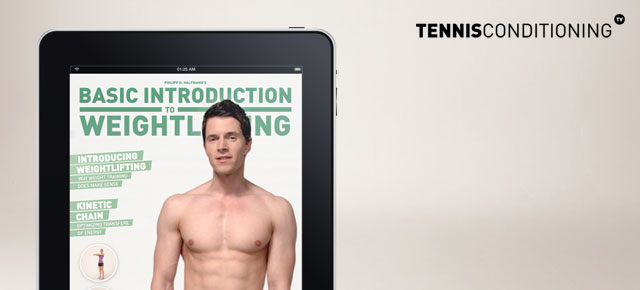 FREE eBook on Weight Training for Tennis