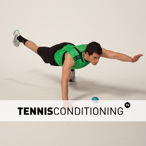 Push Up to Contralateral Limb Raise