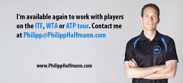 Philipp Halfmann Tennis Touring Coach And Strength and Conditioning Coach