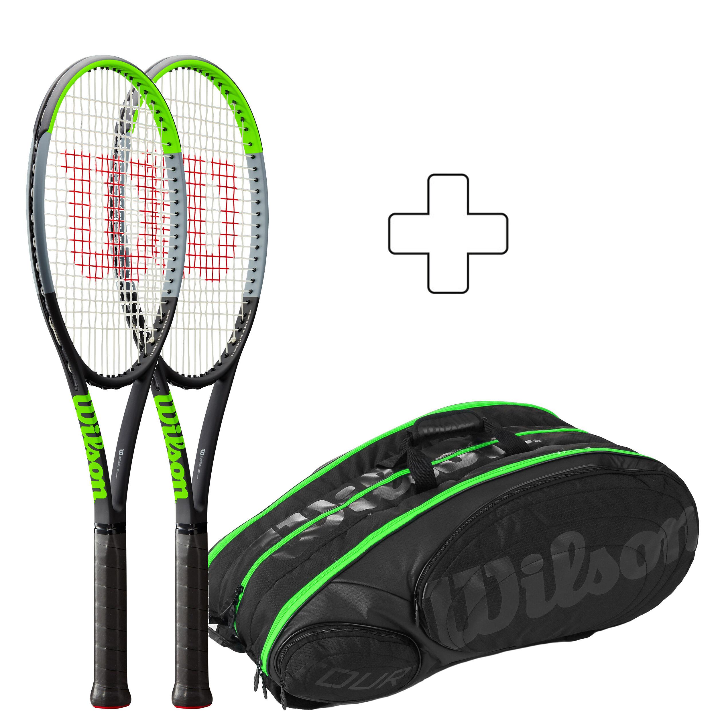 Wilson Blade 98 16x19 V7.0 Ketcherpakke (Plus Ketsjertaske) køb online   Tennis-Point