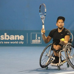 Wheelchair Quad Kid Lounge Chairs Alcott S Clean Sweep At Queensland Tennis Open 11