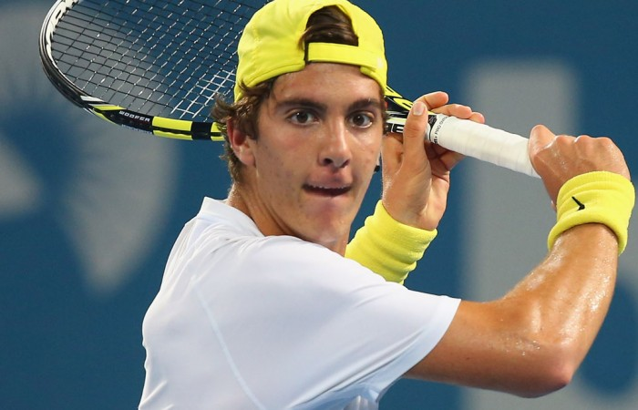 Thanasi Kokkinakis, Brisbane, 2014. GETTY IMAGES