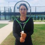 Behind The Racquet • Shares A Behind The Scenes With Tennis 10sBalls • WTA's Louisa Chirico