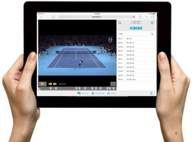 tennis match analysis on ipad