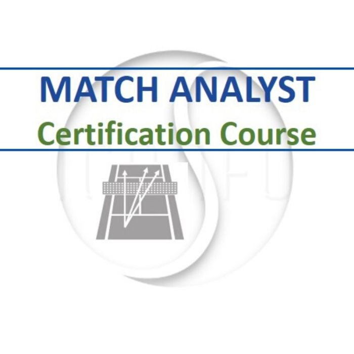 Match Analyst Tennis Coaching Certification Course