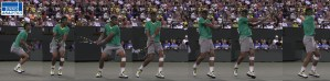 Nadal's two handed backhand