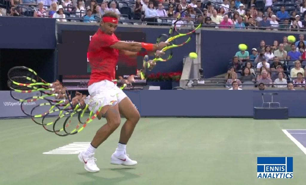 Rafael Nadal's backhand
