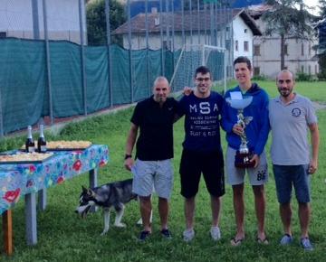 Il 30° Trofeo Corradini va a Pietro Tranquillini