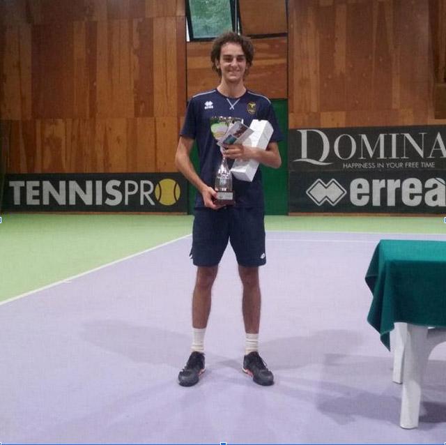 Tommaso Pecorari ha vinto al Circolo del Castellazzo il Torneo Rodeo 3^/4^ cat.