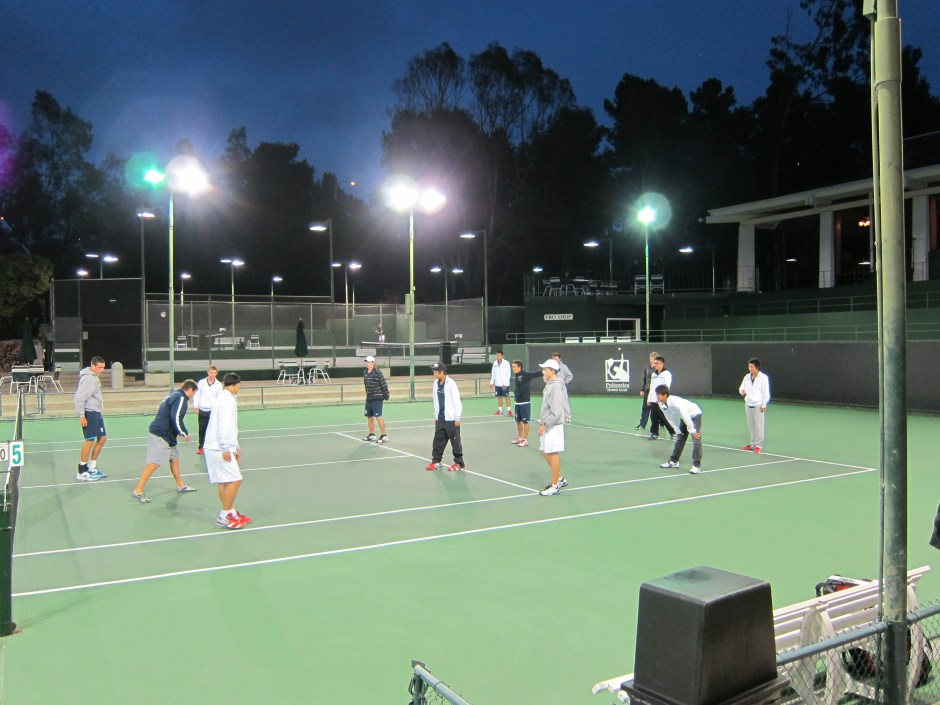 IMG 0846 1024x768 - Warm Up and Cool Down Are Vital Parts of Tennis Training