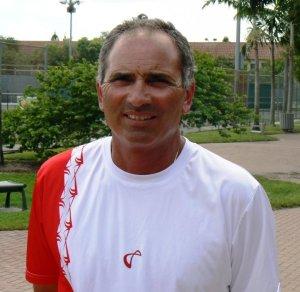 Nick Saviano, tennis coach and author of the book Maximum Tennis