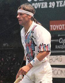 Bjorn Borg. Great tennis player