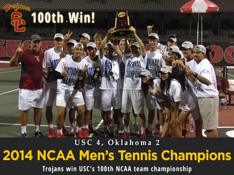 usc m tennis champ - Myths and True about College Tennis Recruiting