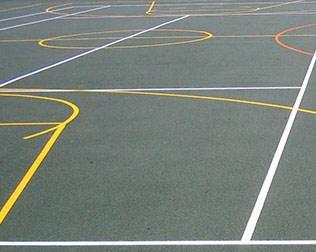 MUGA pitch markings