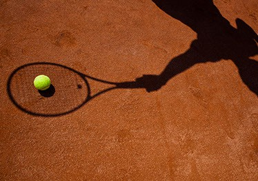 Omniclay synthetic clay tennis court surface by en Tout Cas