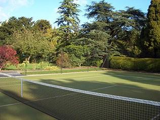 Sporturf tennis court Carpet by En Tout Cas