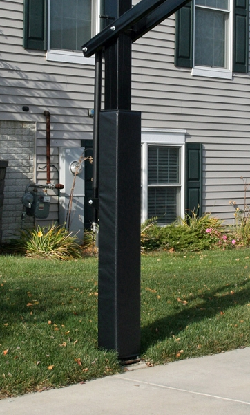 Outdoor Fitted Basketball Pole Padding