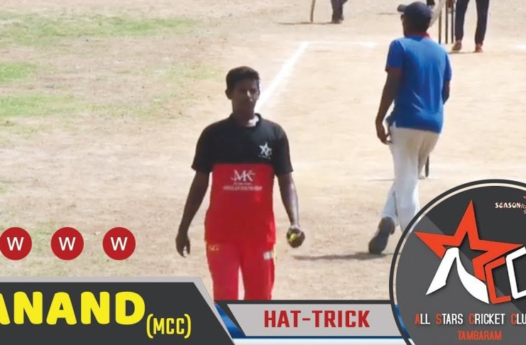 anand hat-trick