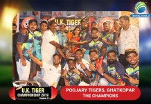 uk winners poojary tigers