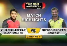 umar xi vs sandy sp