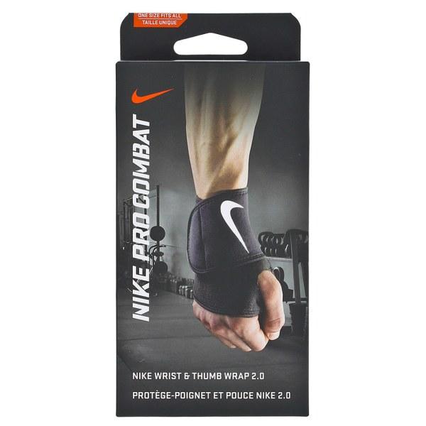 Nike Pro Combat Wrist And Thumb Wrap 2.0 Black